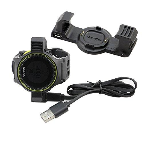 Junsi Data Sync Power puissance Charger Chargeur Clip Dock for Garmin Forerunner 225 GPS Run Sport Watch