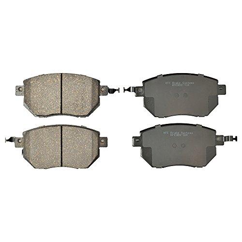 KFE KFE969-104 Ultra Quiet Advanced Premium Ceramic Brake Pad FRONT Set Compatible With: 2004-2008 Nissan Maxima, 2003-2010 Murano, Altima SE-R; 2003 2004 Infiniti FX35, FX45