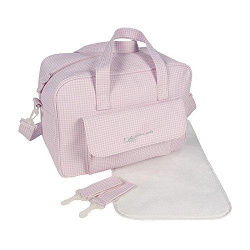 Pasito a Pasito 73904–Borsa Canastilla, colore: rosa