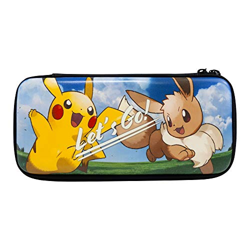 HORI Nintendo Switch Let's Go Pikachu/Eevee Pouch Officially Licensed By Nintendo & Pokemon - Nintendo Switch
