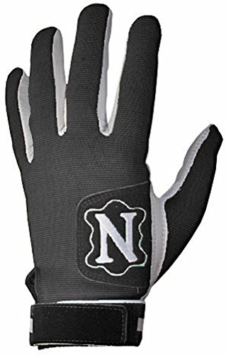 Neumann Tackified Receiver Football Gloves, (Black X-Large)