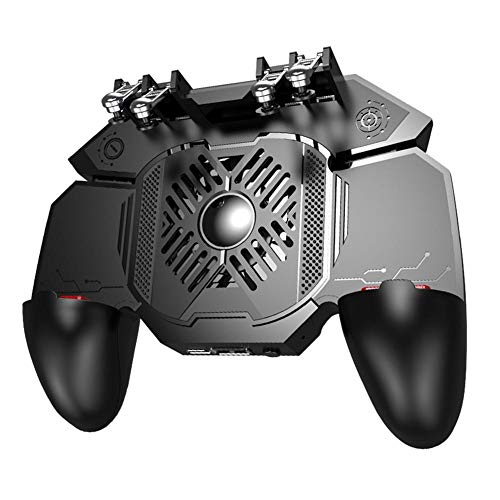 Further Super Mobile Game Controller para PUBG Mobile Controller con 4 Trigger Joystick, Actualización De Disipación De Calor, para PUBG/Rules of Survival Gaming, Gamepad para Teléfono De 4-6.5