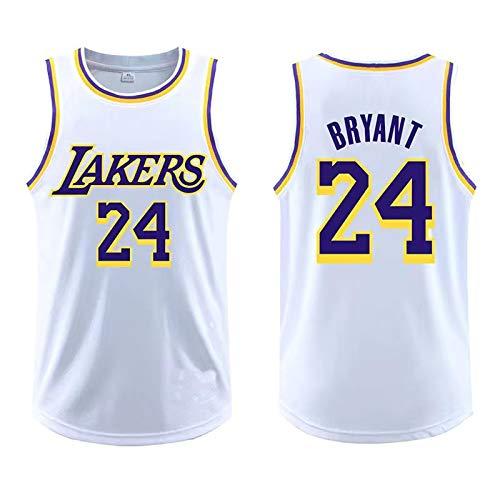 Kobe Bryant #24 Outdoor Ärmellos T-Shirt Basketball Classic Jersey Los Angeles Lakers Classics 2008-09 Herren Basketball NBA Trikot Wettkampf Anzüge - Weiß