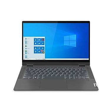 Lenovo Flex 5 Laptop, 14.0″ FHD (1920 x 1080) Touch Display, AMD Ryzen 5 5500U Processor, 16GB DDR4 RAM, 256GB NVMe SSD Storage, AMD Radeon Graphics, Windows 11 Home, 82HU00JWUS, Graphite Grey