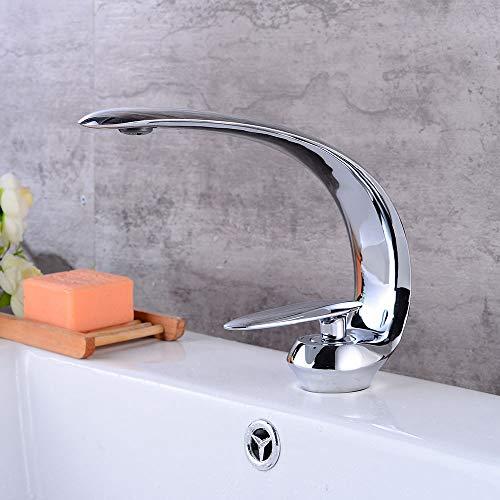 Ganz Kupfer europäischen Retro Chrome kurz,360° drehbar Wasserhahn Küche Einhebelmischer Spültisch Armatur Küchenarmatur Spültischarmatur Spülbecken Mischbatterie