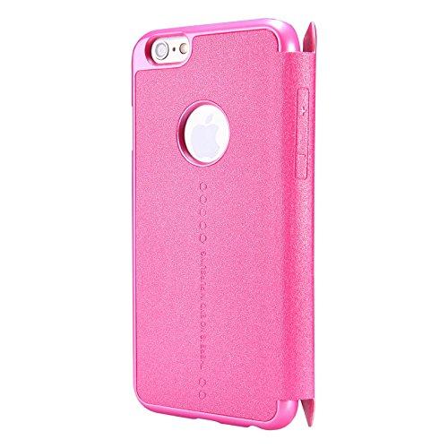 Nillkin Sparkle - Custodia protettiva tipo copertina da libro - per iPhone 6 / 6s - Rosa