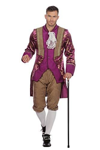 Wilbers Disfraz de Marqus Morado para Hombre