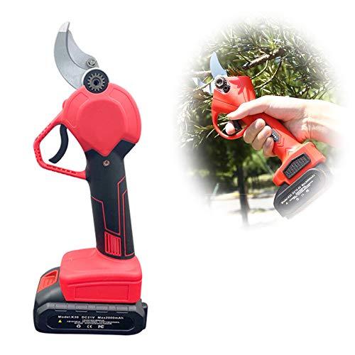 Tijeras de Podar Recargables Podadoras de Ramas de árbol Automáticas Portátiles Corta Rango 30mm Ligero,Protege Tus Brazos y Manos