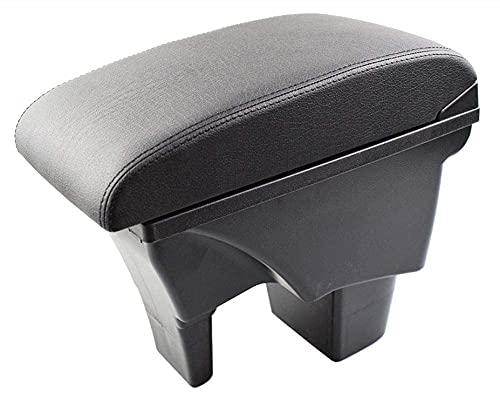 Apoyabrazos para coche Reposabrazos de cuero para almacenamiento de coche para Suzuki Vitara 2015 2019 caja de interfaz USB de almacenamiento de coche modificación del reposabrazos 2016 2017 2018 re