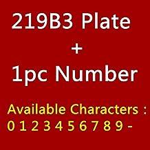 TRJGDCP Twee cijfers ABS Plastic Imitatie Metalen Brons Huisnummer Aangepaste Teken Deurnummer Sticker Voor Hotel Appartem...