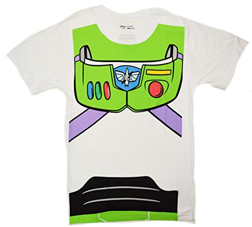 Disney Pixar Toy Story Buzz Lightyear disfraz camiseta - Blanco -