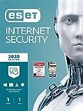 ESET Internet Security 2020 | 1 Gerät | 1 Jahr | Windows (10, 8, 7 und Vista), macOS, Linux und Android | Download
