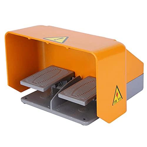 Interruptor de Pie Doble, Interruptor de Pedal Sin Problemas para Equipo de...