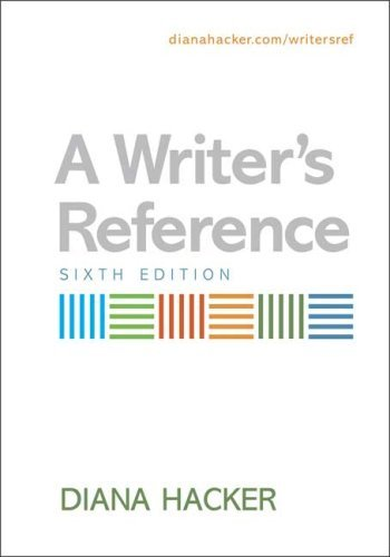 Writer's Reference - Exercises (6th, 07) by Hacker, Diana [Paperback (2007)]