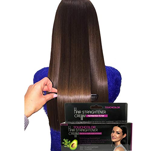 Touchcolor Hair Straightener Cream, Stright Hair, Fixing Cream, Rebond 180ml