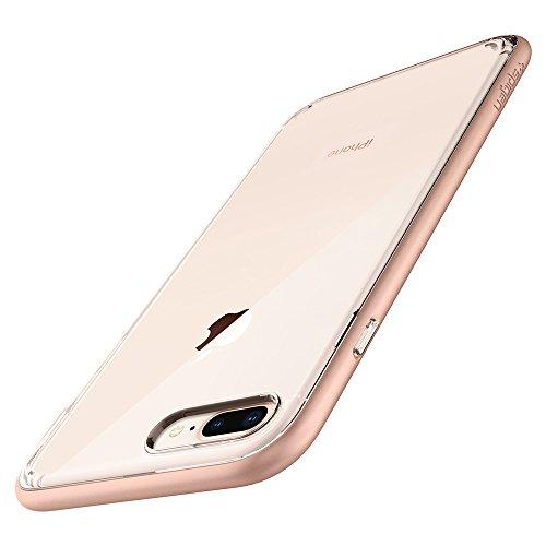 Spigen Cover Neo Hybrid Crystal 2 Compatibile con iPhone 8 Plus Compatibile con iPhone 7 Plus - Blush Gold