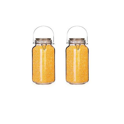 hsy Tarro Sellado,Chatney Frascos de Almacenamiento de Alimentos de Cocina Tapas para conservar Tarro de Galletas Contenedor de Almacenamiento de Cereales de Bote de Alimentos Tarro de Miel Tapa