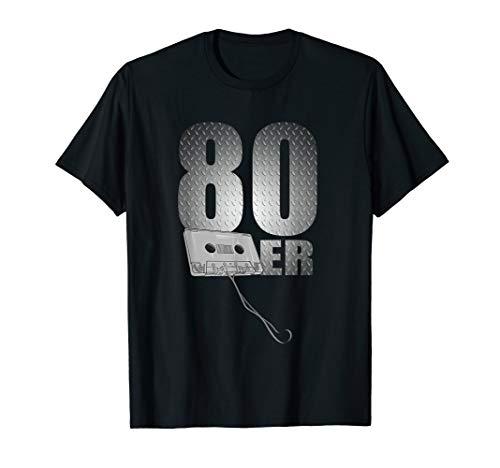 80er Music - 80er Party DJ Kassette 80s Geschenke T-Shirt