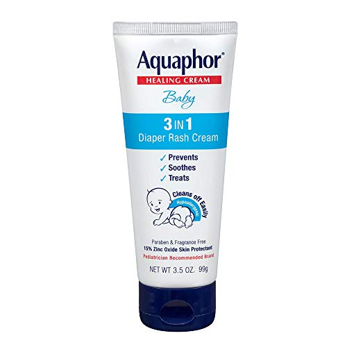 Aquaphor Baby Healing Cream 3 in 1 Diaper Rash 35 Ounce 100ml 2 Pack