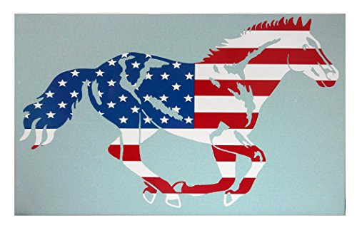 horse decals for cars - 7