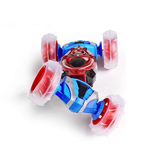 Kikioo Double-sided Tumbling And Side Walking Twisting Stunt Car RC Car Rechargeable Remote Control Children's Toy RC Buggy Climbing Car Racing Multi-scene Fun Toy For Boys And Girls Birthday Gift