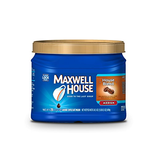 24.5oz Maxwell House Ground Coffee House Blend $6.28 (56% OFF)