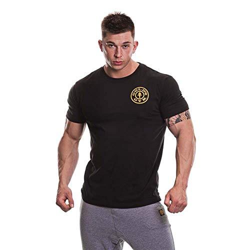 Golds Gym Herren T-Shirt, schwarz, M