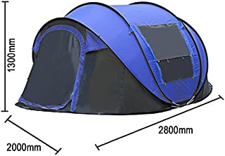 Instant Pop Up Tent Set-Up 3-4 Person Windproof UV Protection Camping Shelter