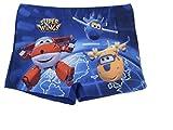 CARTOON WORLD Disfraz de playa y piscina Super Wings – Talla 4 años Color Azul