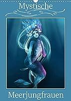 Mystische Meerjungfrauen (Wandkalender 2022 DIN A3 hoch): Meerjungfrauen in der Mythologie begeistern von Kindesbeinen an. (Monatskalender, 14 Seiten )
