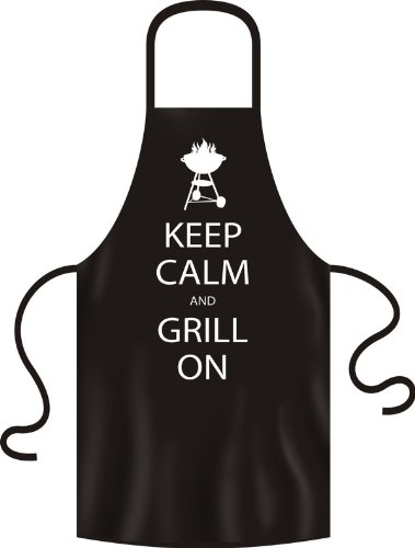 Fun blouses-keep calm and on-tablier de barbecue avec le nom souhaité
