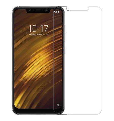 iGlobalmarket Protector Pantalla para Xiaomi Pocophone F1, Vidrio Cristal Templado, dureza 9H, sin Burbujas, antiarañazos