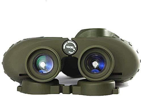 ZHANGYH Telescopio Digital Binoculares Militar Ruso 7X50 / 10X50 Telescopio Marino Brújula Digital Nivel de luz Baja Visión Nocturna Binocular para observación de Aves Turismo Caza Observación de