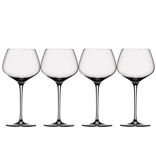 Spiegelau & Nachtmann, 4-teiliges Burgunderglas Set, Kristallglas, 725 ml, Willsberger Anniversary, 1416180