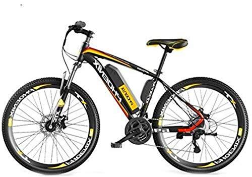 Bicicleta eléctrica de nieve, 26 '' Electric bicicleta de montaña con gran capacidad extraíble de iones de litio (36V 250W), bicicleta eléctrica 27 de la velocidad del engranaje de ciclo al aire for T