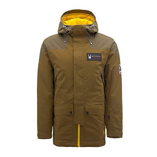 Spyder Us Team Gore-Tex Ski Jacket, Marrón, M Mens