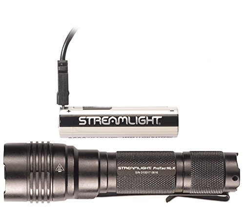 Streamlight ProTac HL-x Includes 18650 Battery USB Cord & Holster Clam Tactical Flashlights