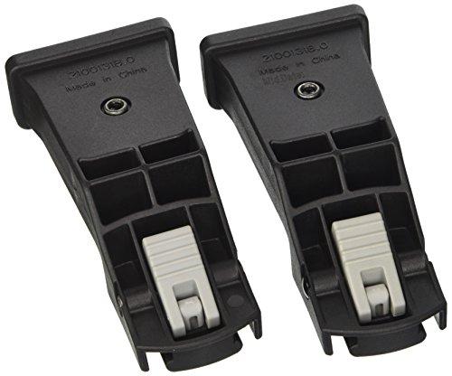 Baby Jogger BJ90228 City Select Autositz Adapter, schwarz