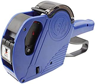 Packing Supplies High Performance Handheld 8 Digits Price Labeller, Yellow Label Tape (Color : Blue)