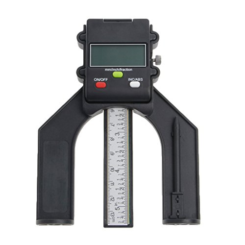 ZChun Digitale LCD-magneetvoet-diafragma 80 mm handfrees, zelfpermanente dieptemeter