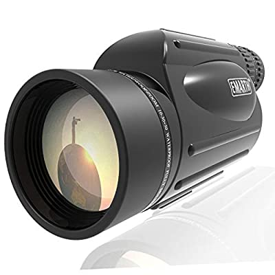 Emarth High Power 10-30X50 Zoom Monocular Telescope BAK4 Prism Waterproof Fog Proof Men Gifts for Bird Watching Camping Hunting Wildlife Traveling from Emarth