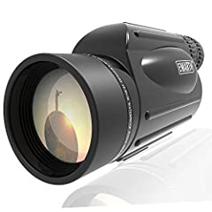 ✅【Portable Zoom Monocular 】- Emarth monocular features a powerful zoom magnification range that adjustable 10x to 30x magnification, use low magnification if you need to see a larger view and handle it steady, zoom in to high magnification when you n...