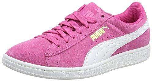 Puma PUMA Damen Vikky Winterised Basketballschuhe, Pink (Carmine Rose-White), 40 EU