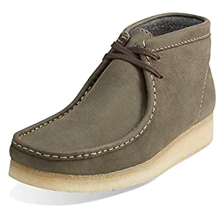 Clarks ORIGINALS Men's Dark Green Leather Wallabee Boot 11.5 D(M) US (B00TY9C82G)   Amazon price tracker / tracking, Amazon price history charts, Amazon price watches, Amazon price drop alerts