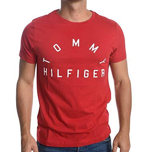 Preisvergleich Produktbild Tommy Hilfiger Shirt MN Arch Logo Tee 611 Gr. XXL