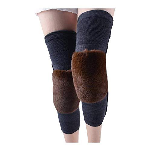 Sywlwxkq Kniebeschermer, warm houden old, koude legging, kant-en-klare lengte kniegewricht medium dikke breath duurzaam dedicated verhogen