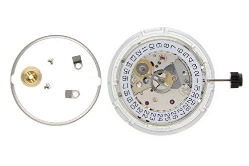Nuevo Motor de Reloj Original para ETA 2824-2 Auto Fecha Plata 3H Nickel Swiss