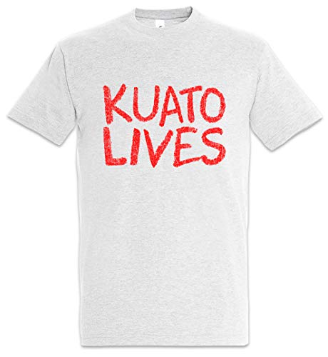 Urban Backwoods Kuato Lives Herren T-Shirt Grau Größe L