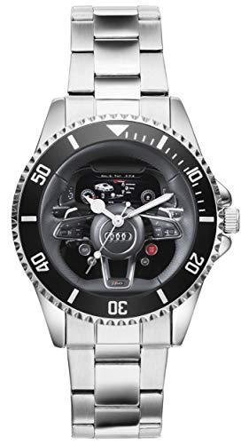 Regalo para Audi R8 Fan Conductor Kiesenberg Reloj 10067