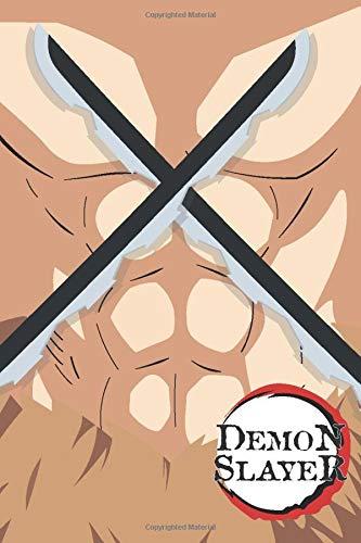 Demon Slayer: Blank Lined Journal | Inosuke Hashibira Demon Slayer Kimetsu no Yaiba | Writing Journal Notebook Diary Note Taker | Homework Online ... Cosplay Nerd Geek Gift Present Entertainment